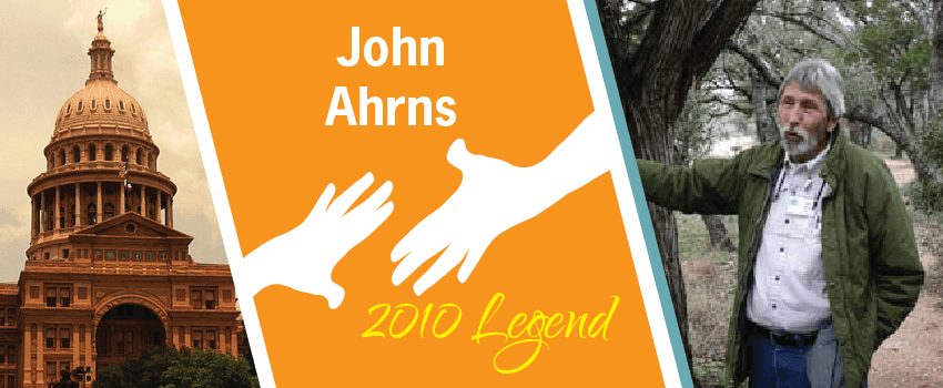 John Ahrns Legend Header