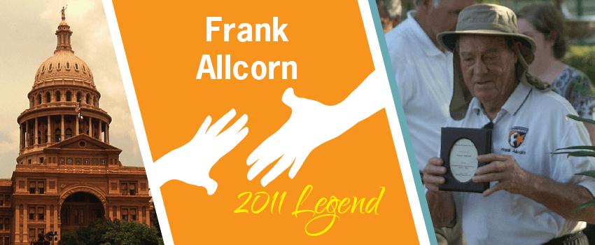 Frank Allcorn Legend Header