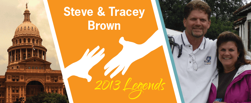 Steve & Tracey Brown Legend Header