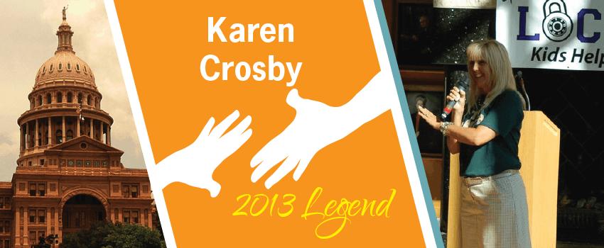 Karen Crosby Legend Header
