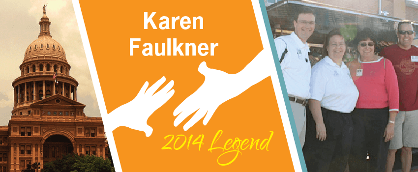 Karen Faulkner Legend Header