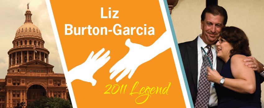 Liz Burton-Garcia Legend Header