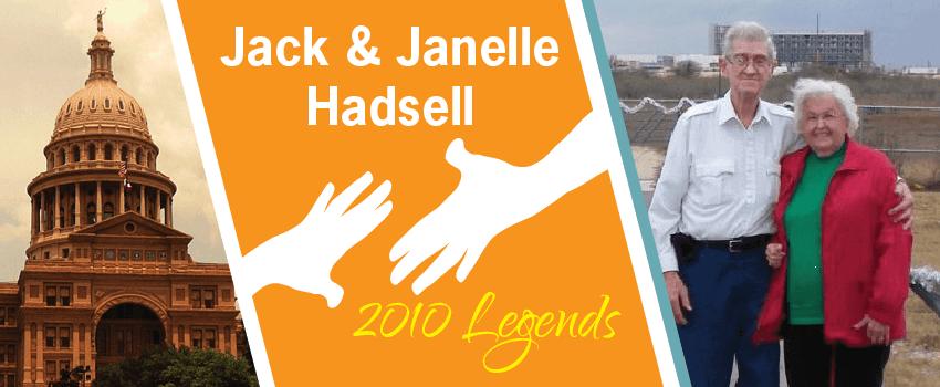 Jack & Janelle Hadsell Legend Header