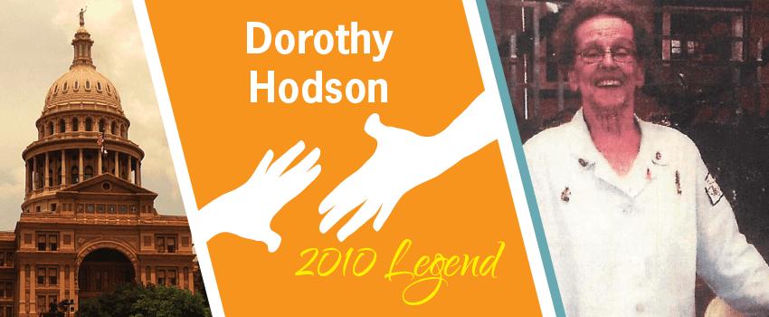 Dorothy Hodson Legend Header