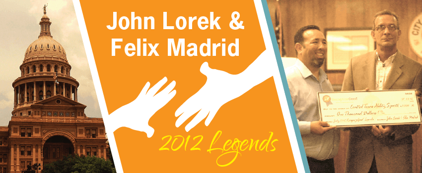 John Lorek & Felix Madrid Legend Header