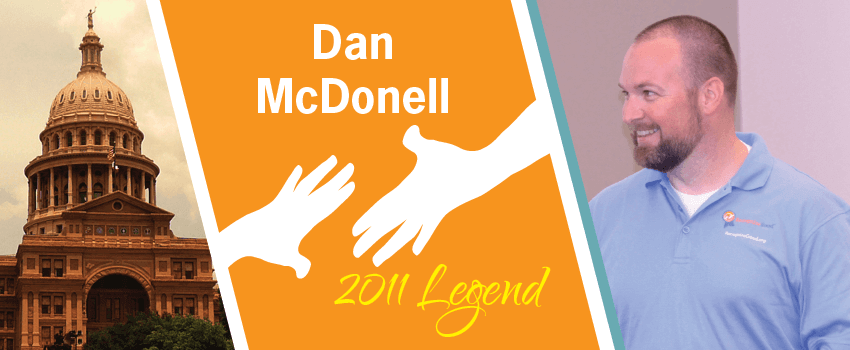 Dan McDonell Legend Header