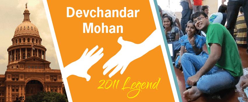 Devchandar Mohan Legend Header