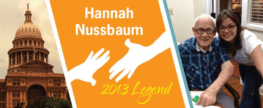 Hannah Nussbaum Legend Header