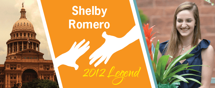 Shelby Romero Legend Header
