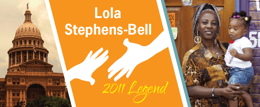 Lola Stephens-Bell Legend Header