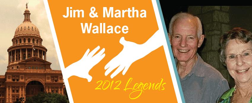 James & Martha Wallace Legend Header