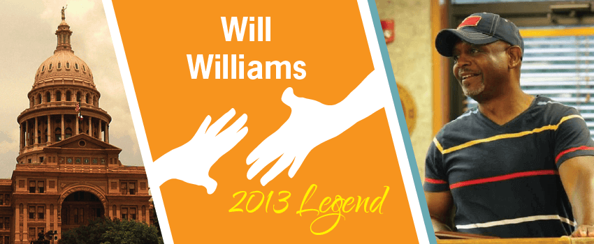 Will Williams Legend Header