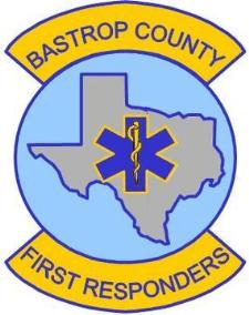 Bastrop County First Responders Logo