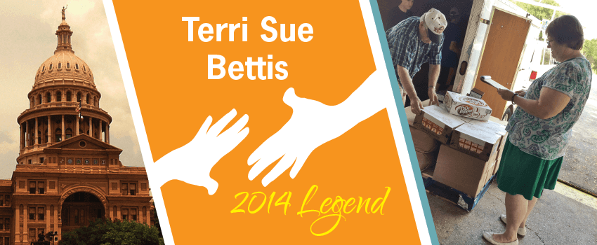 Terri Sue Bettis Legend Header