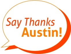 Say Thanks Austin Logo