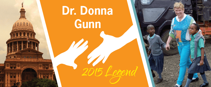 Donna Gunn Legend Header
