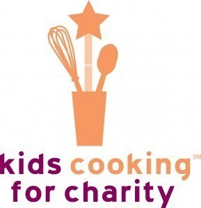 Kids Cooking for Charity logo