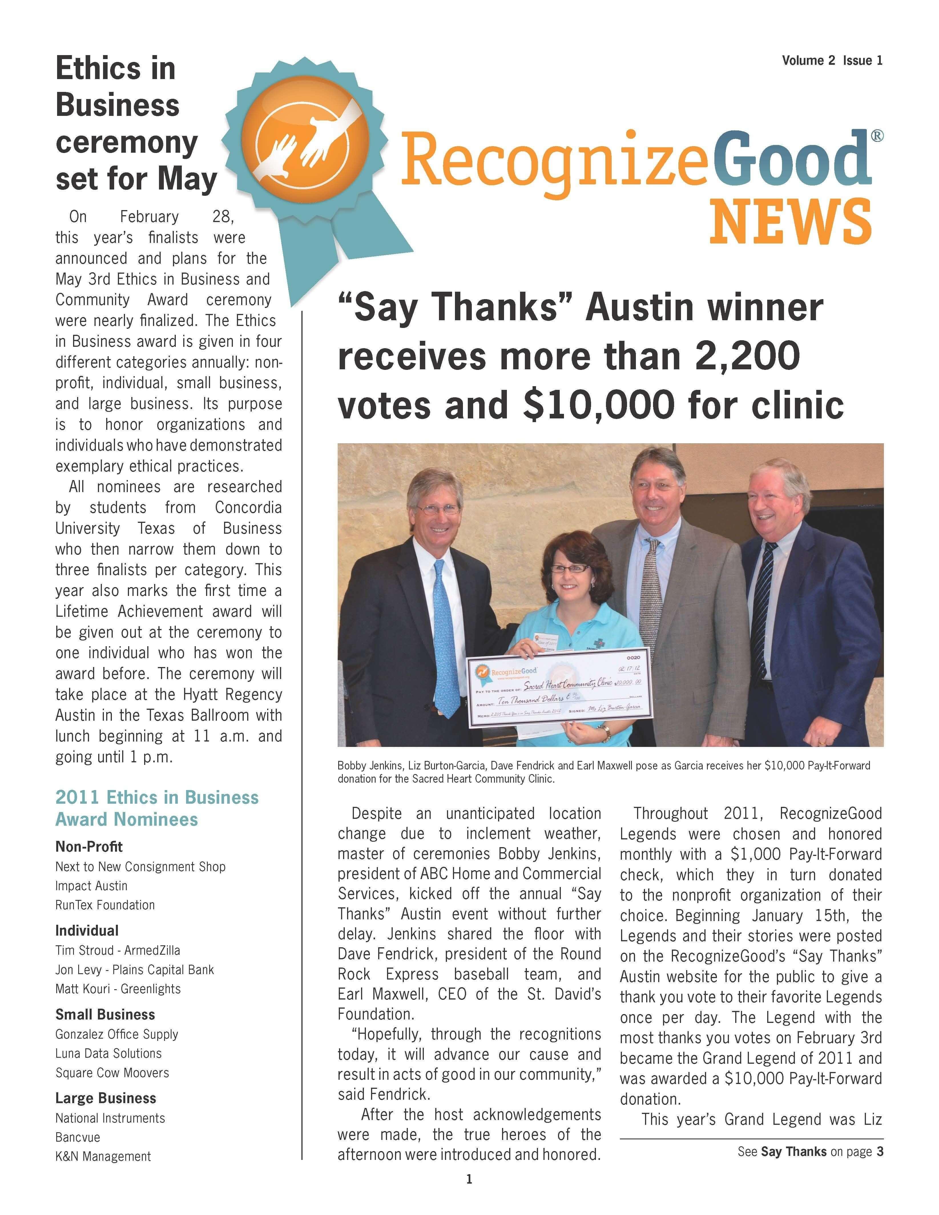 Newsletter Q1 (2012)