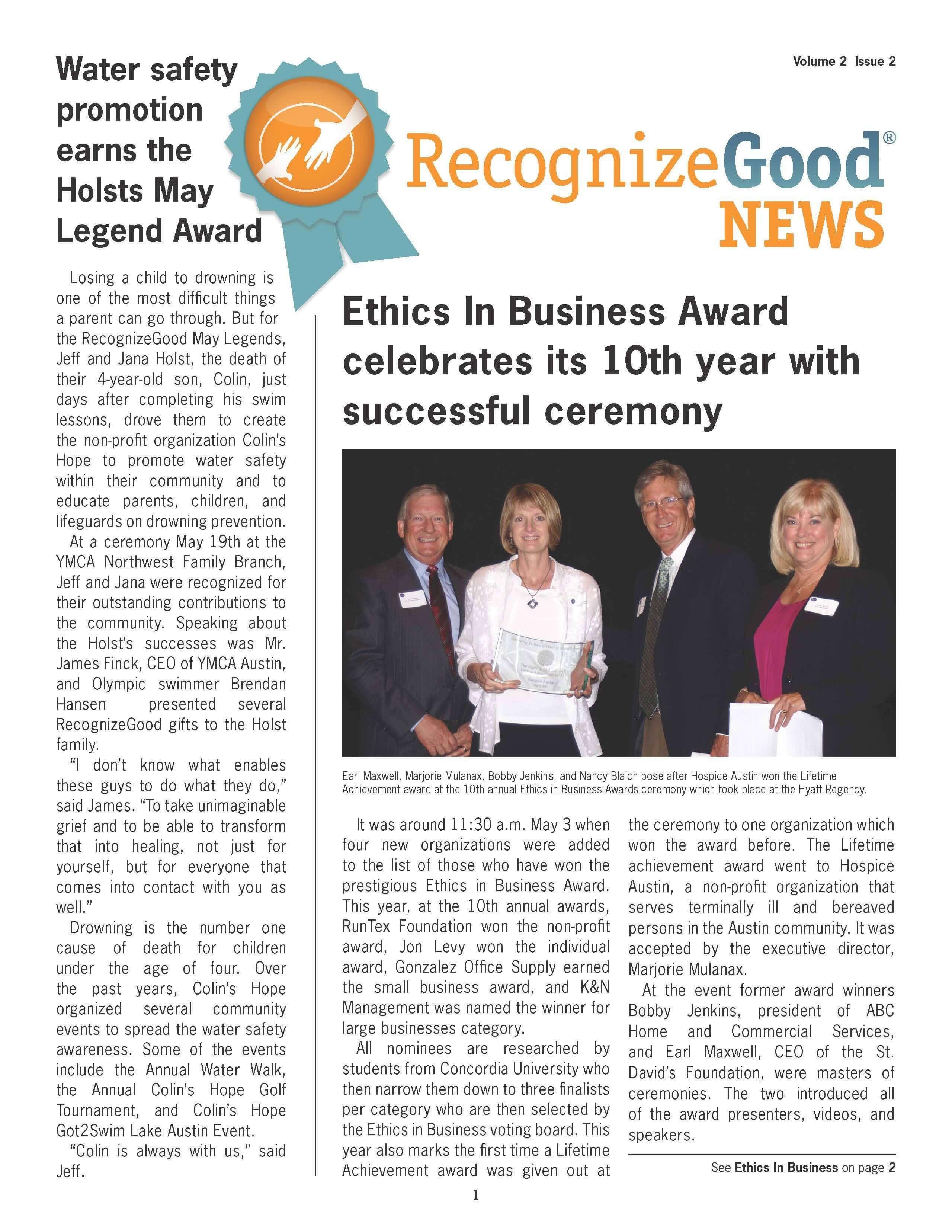 Newsletter Q2 (2012)