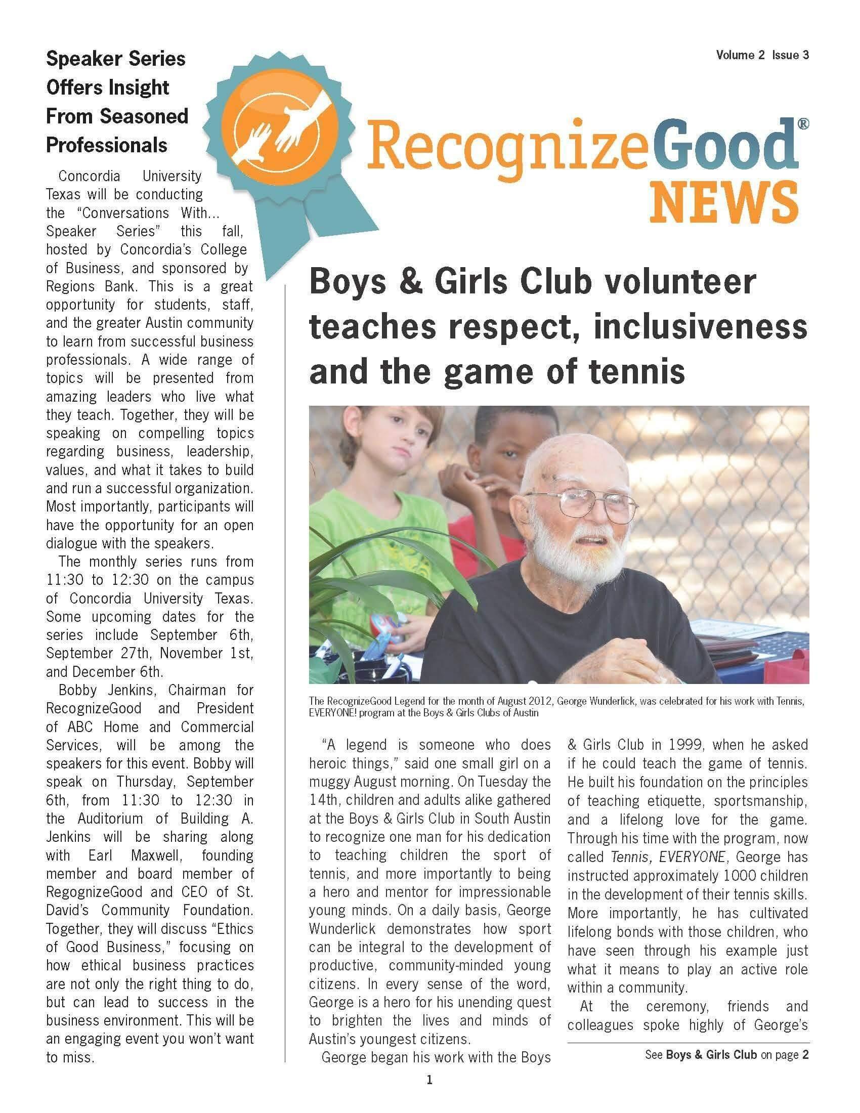 Newsletter Q3 (2012)