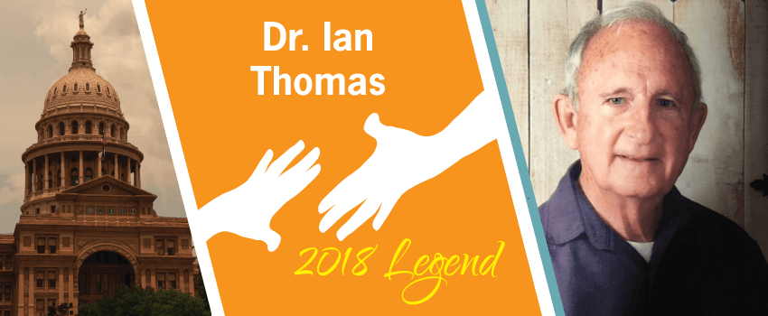 Dr. Ian Thomas Legend Header
