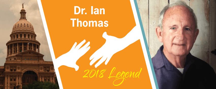 Dr. Ian Thomas Legend Header