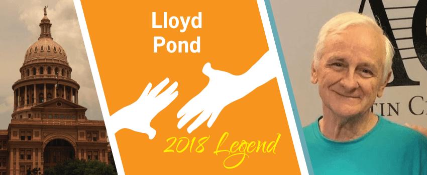 Lloyd Pond Legend Header