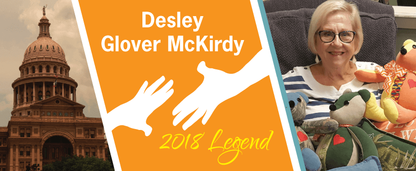 Desley Glover McKirdy Legend Header