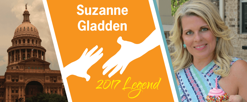 Suzanne Gladden Legend Header