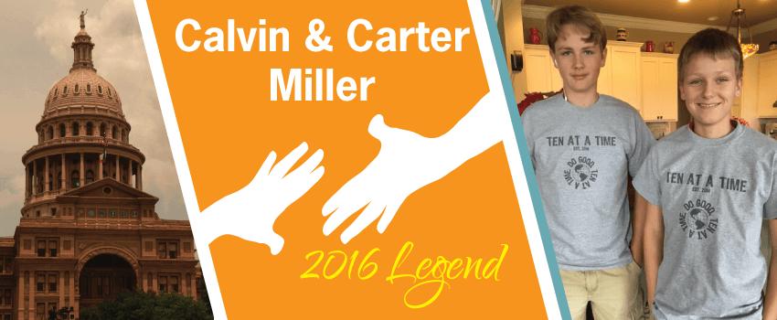 Calvin & Carter Miller Legend Header
