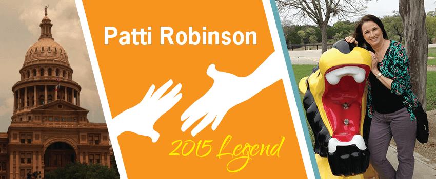 Patti Robinson Legend Header