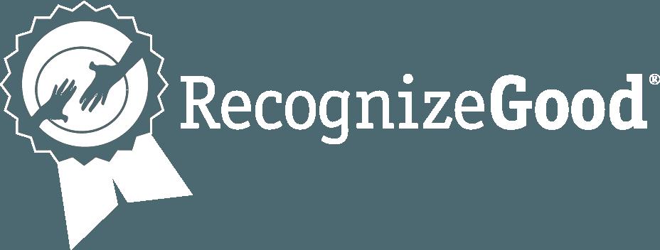 RecgonizeGood White Logo
