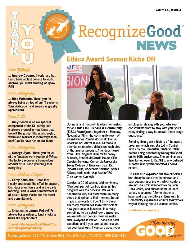 Newsletter Issue 4 (2016)