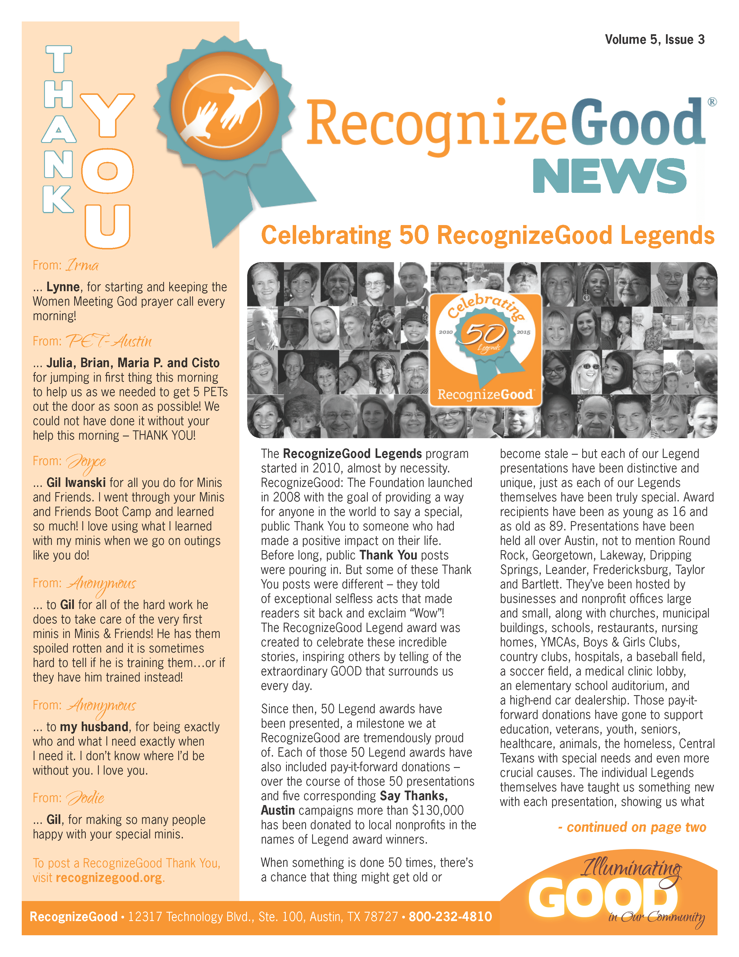 Newsletter Q3 (2015)
