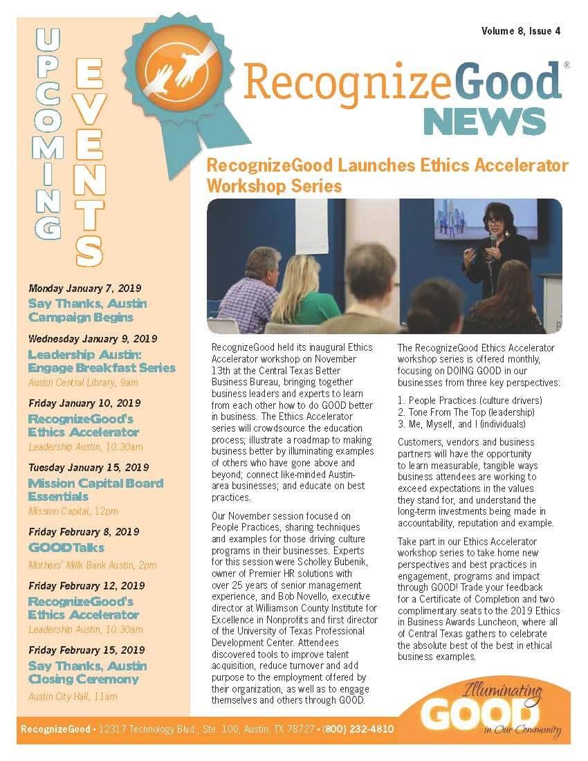 Newsletter Issue 4 (2018)