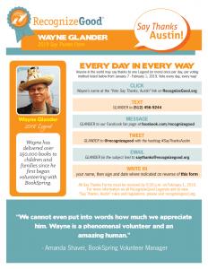 Wayne Glander STAC Form