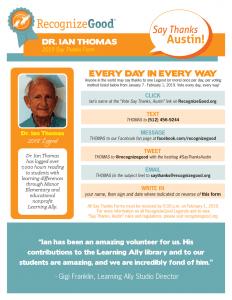 Dr. Ian Thomas STAC Form