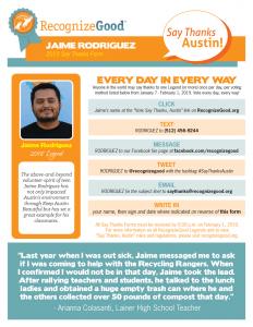 Jaime Rodriguez STAC Form