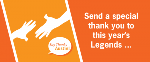 Say Thanks Austin Action